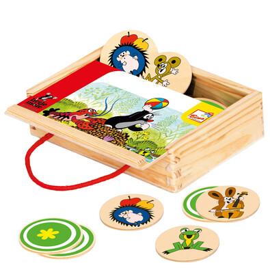 Bino Memo Krtek v krabičce