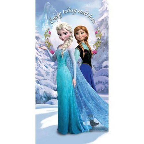 Ręcznik Lodowe królestwo Frozen 2, 75 x 150 cm