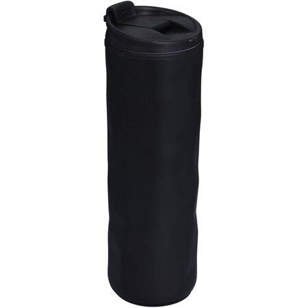 Cestovní hrnek s víčkem 400 ml, černá