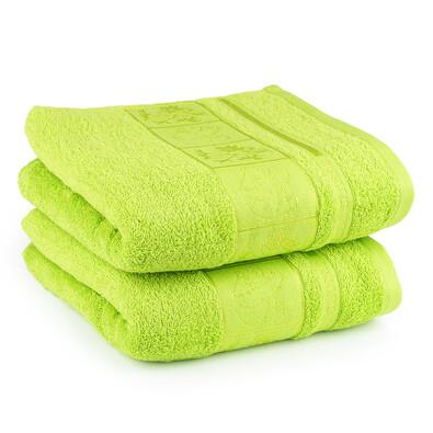 4Home ručník Bamboo zelená, 50 x 100 cm, 2 ks