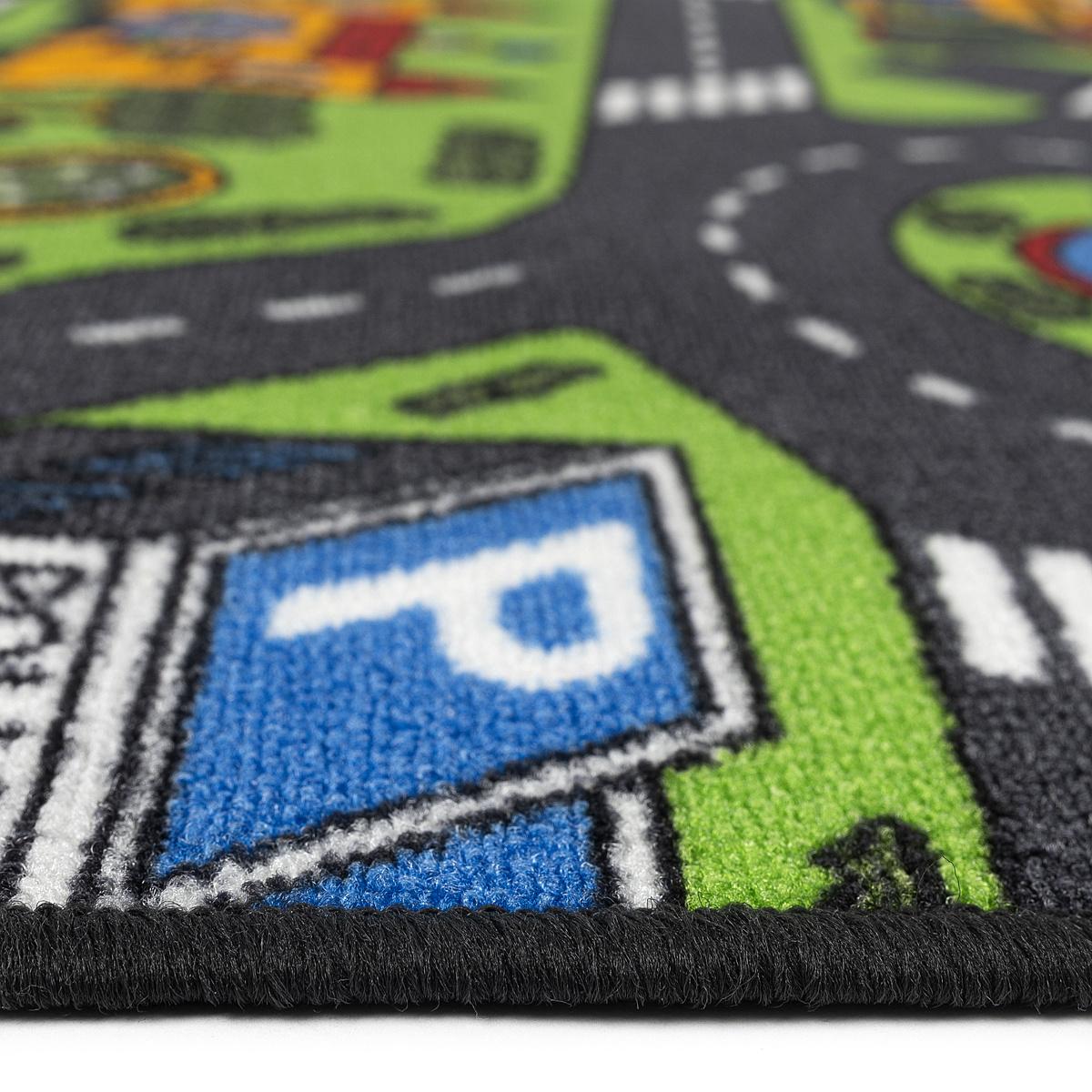 Produktové foto Vopi Dětský koberec City life, 95 x 200 cm