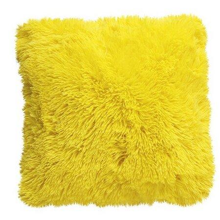 Domarex Obliečka na vankúšik Muss žltá, 40 x 40 cm