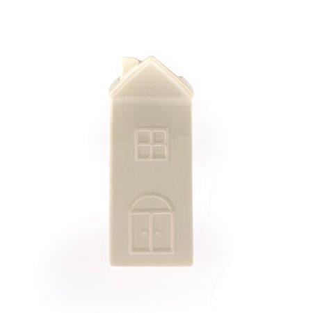 Házikó kerámia párásító, barna