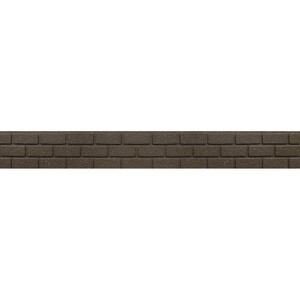Zahradní gumový obrubník Brick Stones, 15 cm