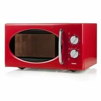 DOMO DO2925 mikrovlnná rúra retro, červená