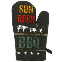 Sun, beer, BBQ edényfogó, 17 x 27 cm