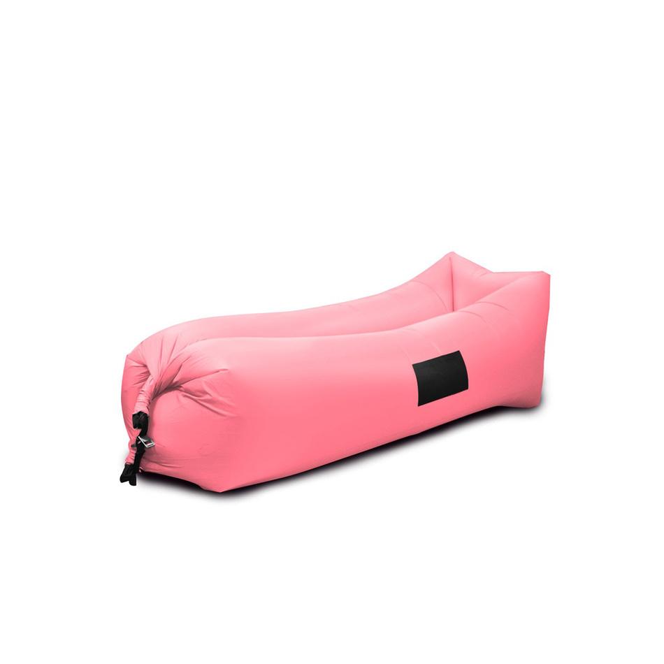 Sedací nafukovací vak BANANA BAG světle růžová
