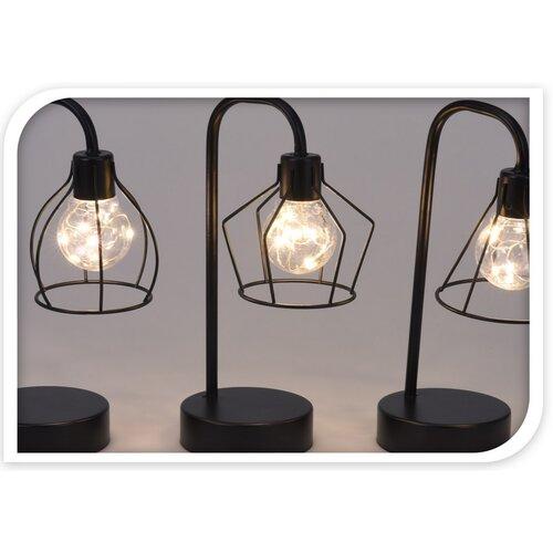Stolná LED lampa Ramon 8 LED, 25 cm