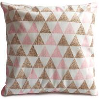 Love Háromszögek párna, 40 x 40 cm