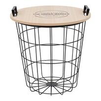 Příruční stolek Nando, přírodní
