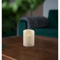 Świeczka woskowa LED, 7,5 x 10 cm