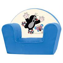 Bino Kisvakond fotel, kék