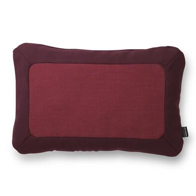 Polštářek Frame 40 x 60 cm, tmavě červený