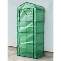 Happy Green Fóliovník s policami, 69 x 50 x 160 cm