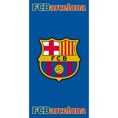 Osuška FC Barcelona 2015, 75 x 150 cm