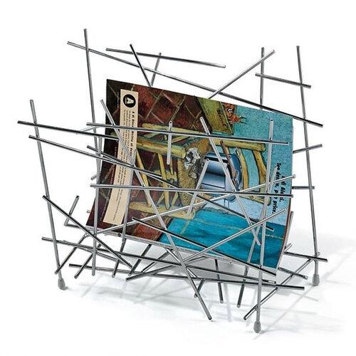 Alessi Blow Up stojan na časopisy 45,5 x 28,5 x 35 cm