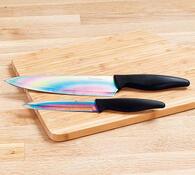 Titanový nůž kuchyňský sada 2 ks