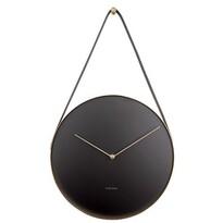 Ceas de design, de perete, Karlsson 5767BK, diam. 34 cm