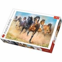Trefl Puzzle Cválající koně, 2000 dílků