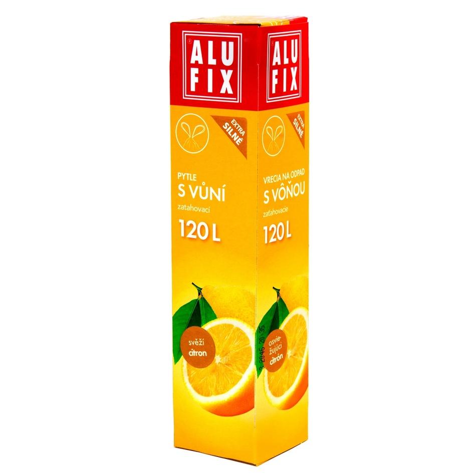 Alufix Pytle na odpad s vůní citrusů, 120 l