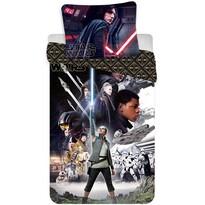 Dziecięca pościel bawełniana Star Wars VIII, 140 x 200 cm, 70 x 90 cm