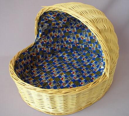 Ratanový pelech AXIN trading, 30 x 20 x 22 cm