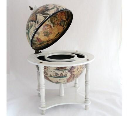 Bar dřevěný Globus