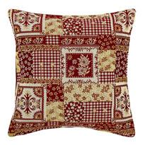 Husa de pernă Goblen roșie, 45 x 45 cm
