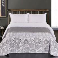 DecoKing Prehoz na posteľ Alhambra sivá, 220 x 240 cm
