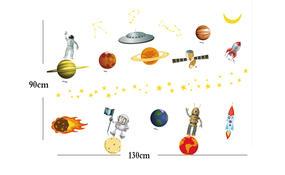 Samolepicí dekorace Sluneční soustava