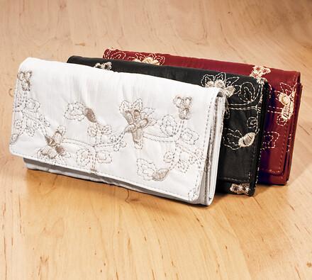 Dámská peněženka, tmavě hnědá
