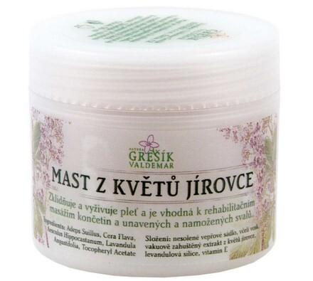 Mast z květů jírovce Grešík 50 ml