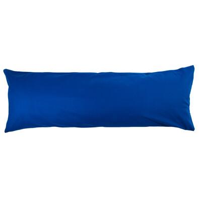 4Home povlak na Relaxační polštář Náhradní manžel tmavě modrá, 50 x 150 cm