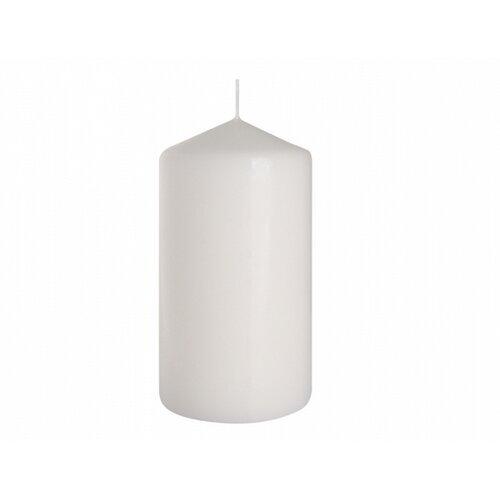 Dekorativní svíčka Classic Maxi bílá, 15 cm, 15 cm