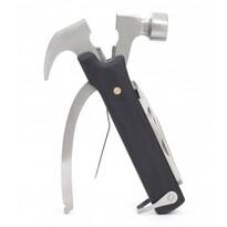 Eleganckie narzędzia wielofunkcyjne 10w1, czarny