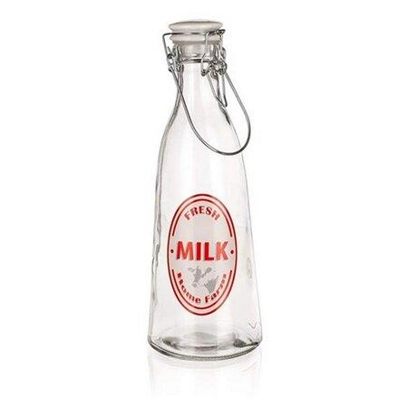Banquet Skleněná láhev s Clip uzávěrem Fresh, 1 l