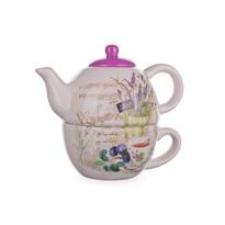 Ceainic cu ceașcă Banquet Lavender