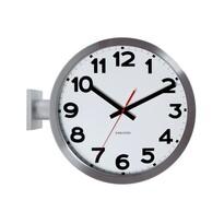 Karlsson 5511 Designové oboustranné nástěnné hodiny, 38 cm