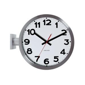 Oboustranné nástěnné hodiny Karlsson 5511 38cm
