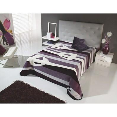 Španělská deka Piel Harmonie , fialová, 220 x 240 cm