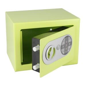Richter Ocelový sejf s elektronickým zámkem, zelená