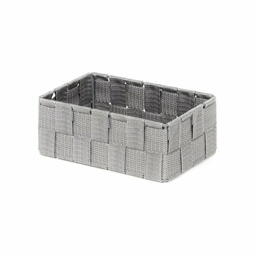 Compactor Úložný organizér do zásuvky Compactor TEX - košík M, 18 x 12 x 7 cm, sivý