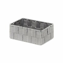 Compactor Úložný organizér do zásuvky M TEX, 18 x 12 x 7 cm, šedá