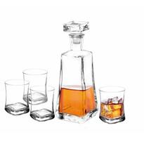 Altom 5-częściowy komplet karafki i kieliszków na whisky