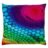 Poduszka Kropki kolorowy, 40 x 40 cm