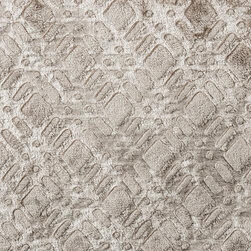 4Home Luxusná XXL deka Geometry sivá, 220 x 240 cm