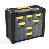 Cutie de suspendare pentru şuruburi, 7 compartimente