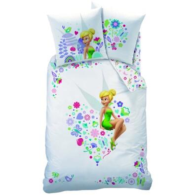 Dětské bavlněné povlečení Fairies Heart, 140 x 200 cm, 70 x 90 cm