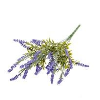 Umělá květina Levandule fialová, 45 cm