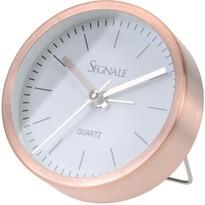 Koopman Segnale ébresztőóra, rézszínű, 9 x 2,5 cm